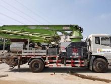 精品出售18年出厂鹏翔东风34米泵车     【国五 搅拌一体泵车】