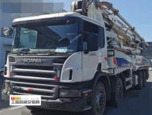 精品出售11年中联斯堪尼亚50米泵车(中联法务车)