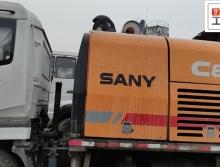 2014年出厂三一10020车载泵(国四,车况保证)