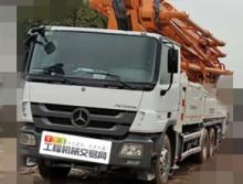 极品出售13年出厂中联奔驰49米泵车(三桥6节臂大排量)暂不出售