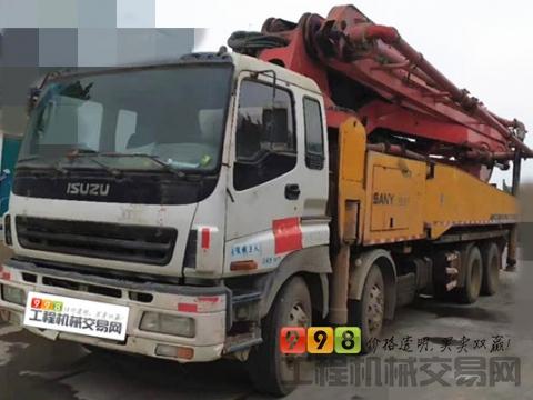 车主转让09年出厂三一五十铃50米泵车