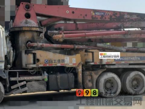 2009年徐工五十铃37米泵