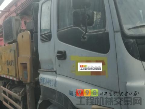 车主出售10年出厂三一五十铃40米泵车(3桥叉腿大排量)