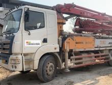 精品车出售2014年三一25米泵车(用户正在干活车)