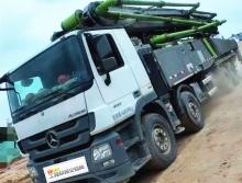 精品出售2017年11月中联奔驰56米泵车(国五)