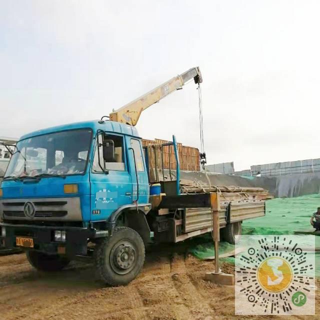 转让东风2014年石煤5吨随车吊