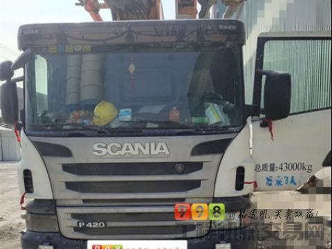 精品出售13年出厂中联斯堪尼亚56米泵车