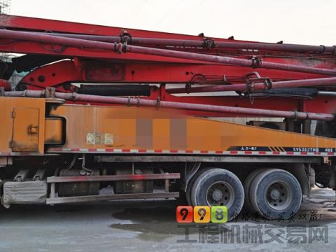 转让11年出厂三一五十铃46米泵车(叉腿  高性价)