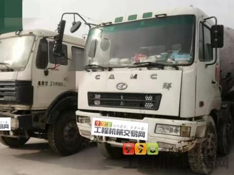 出售2011年华菱星马18方搅拌车 (2台)