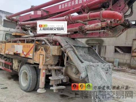 终端出售16年差一月科尼乐27米泵车(国四   轴距4.7米)