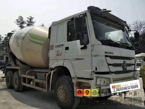 出售2014年豪沃14方搅拌车(国四排放)