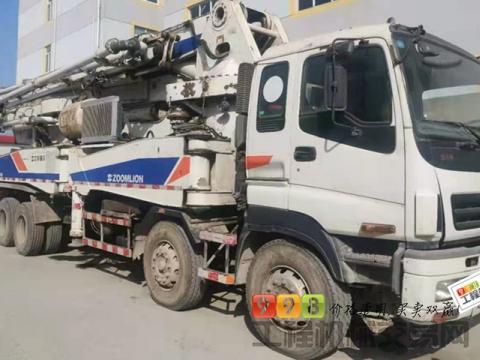 精品出售11年差1月份中联五十铃46米泵车