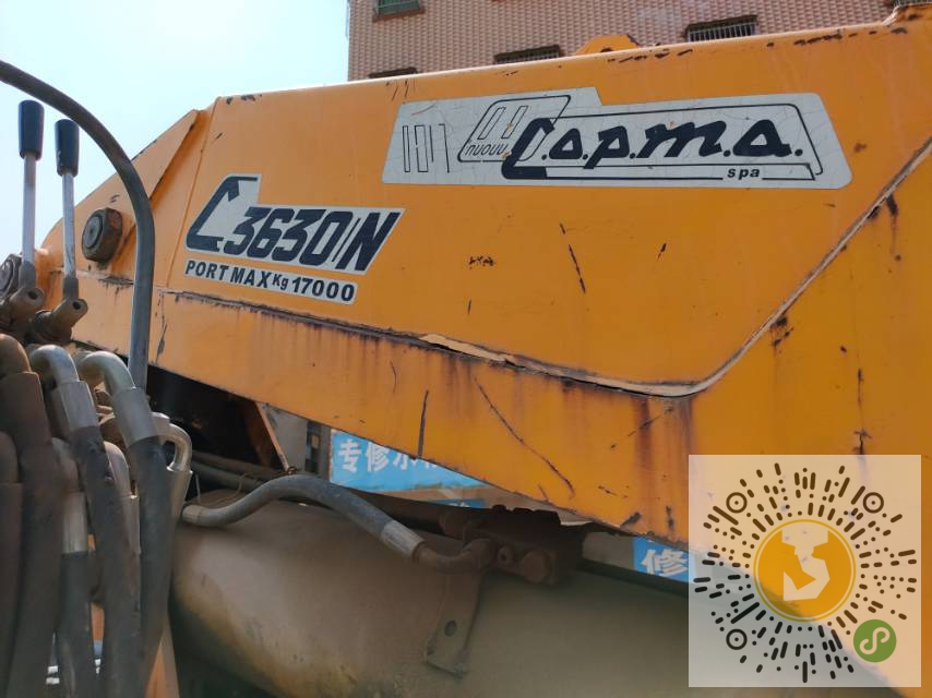 转让东风2008年17吨随车吊