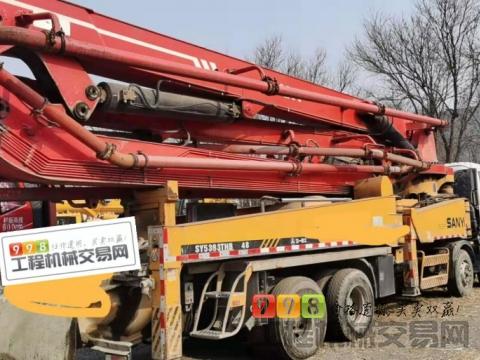 出售08年6月三一五十铃45米泵车