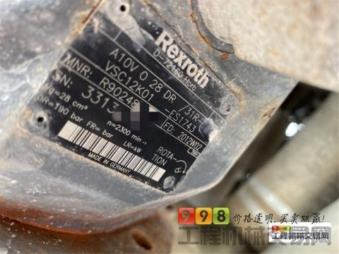 2016年6月出厂中联105—28双动力超高压泵(高层利器)