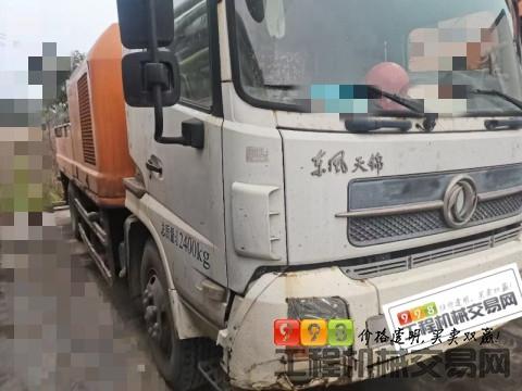 出售13年出厂中联10018车载泵