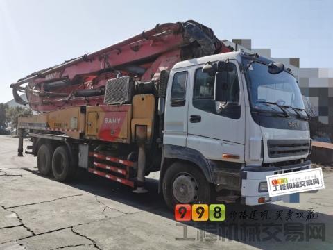 车主出售12年出厂三一五十铃46米泵车(3桥叉 腿)
