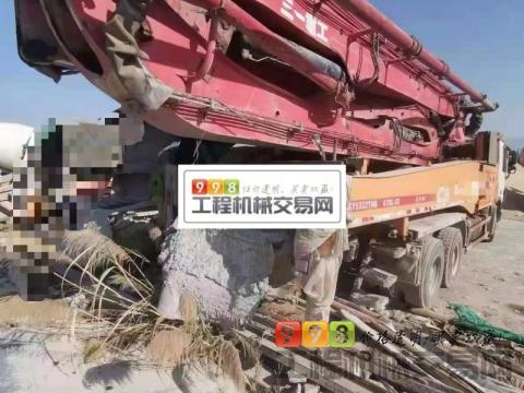 出售14年三一奔驰47米泵车(国四)