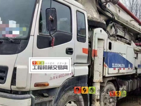 出售11年中联五十铃50米泵车