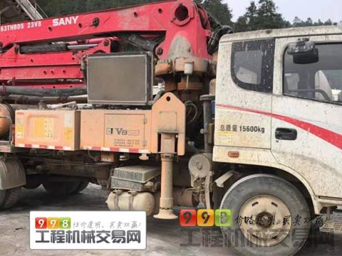 精品出售17年三一23米泵车(国四)(暂不售)