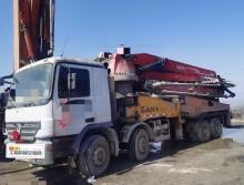 车主精品出售09年出厂三一奔驰46米泵车