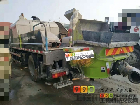 出售2017年出厂中联东风10022车载泵(国五)