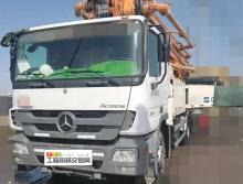 极品出售13年差二十多天中联奔驰49米泵车