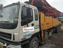 车主精品出售10年出厂三一五十铃48米泵车(叉腿东北户)