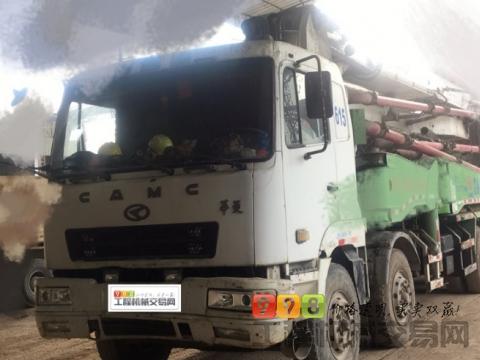 出售10年星马42米泵车(干活的车)