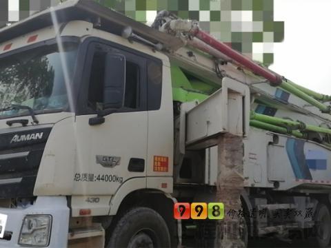 2018年9月福田雷萨58米泵车