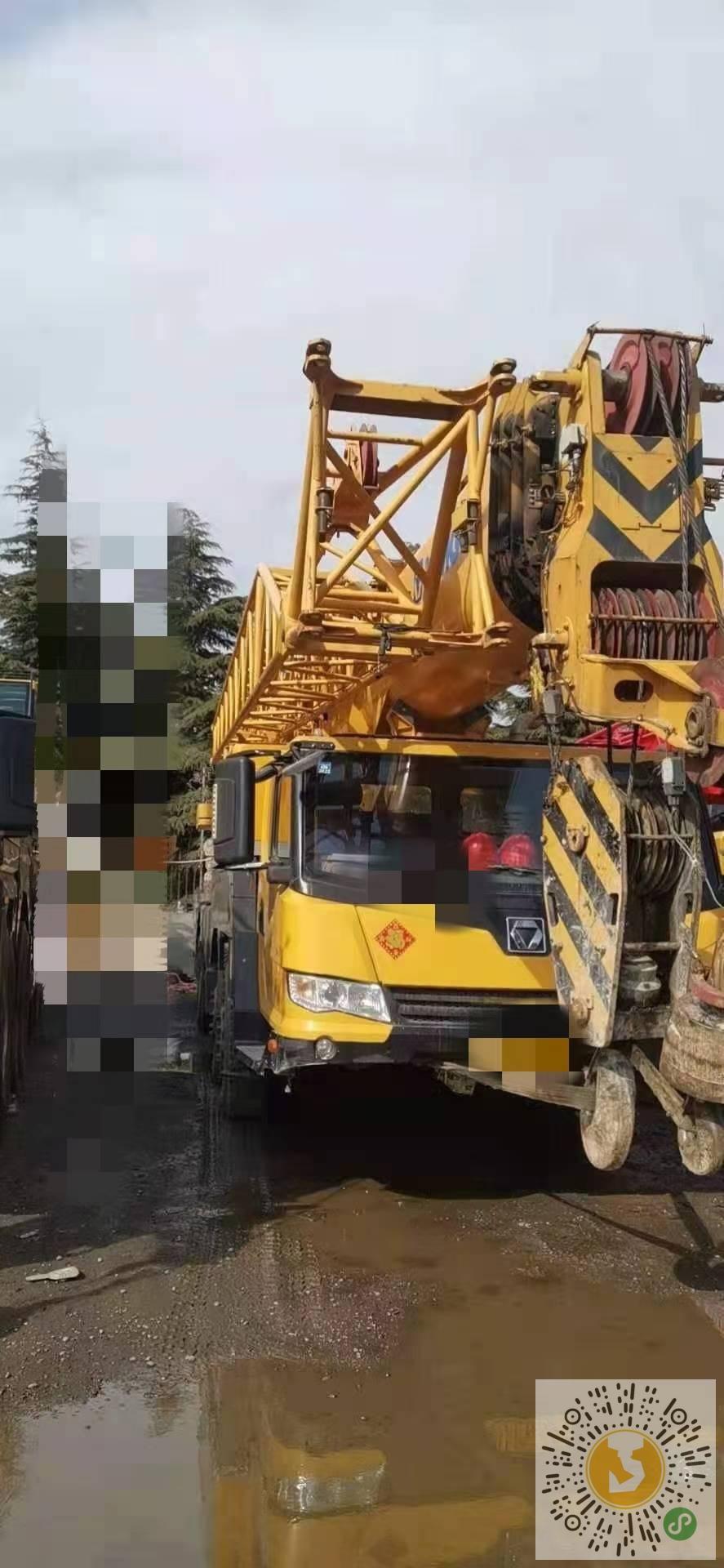 转让徐工2017年75吨吊车