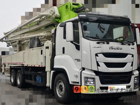 2021年出厂五十铃国五47米泵(国三高配升级)
