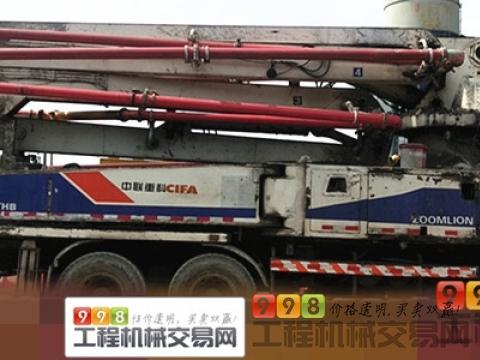 精品出售12年出厂中联五十铃47米泵车(开式系统)