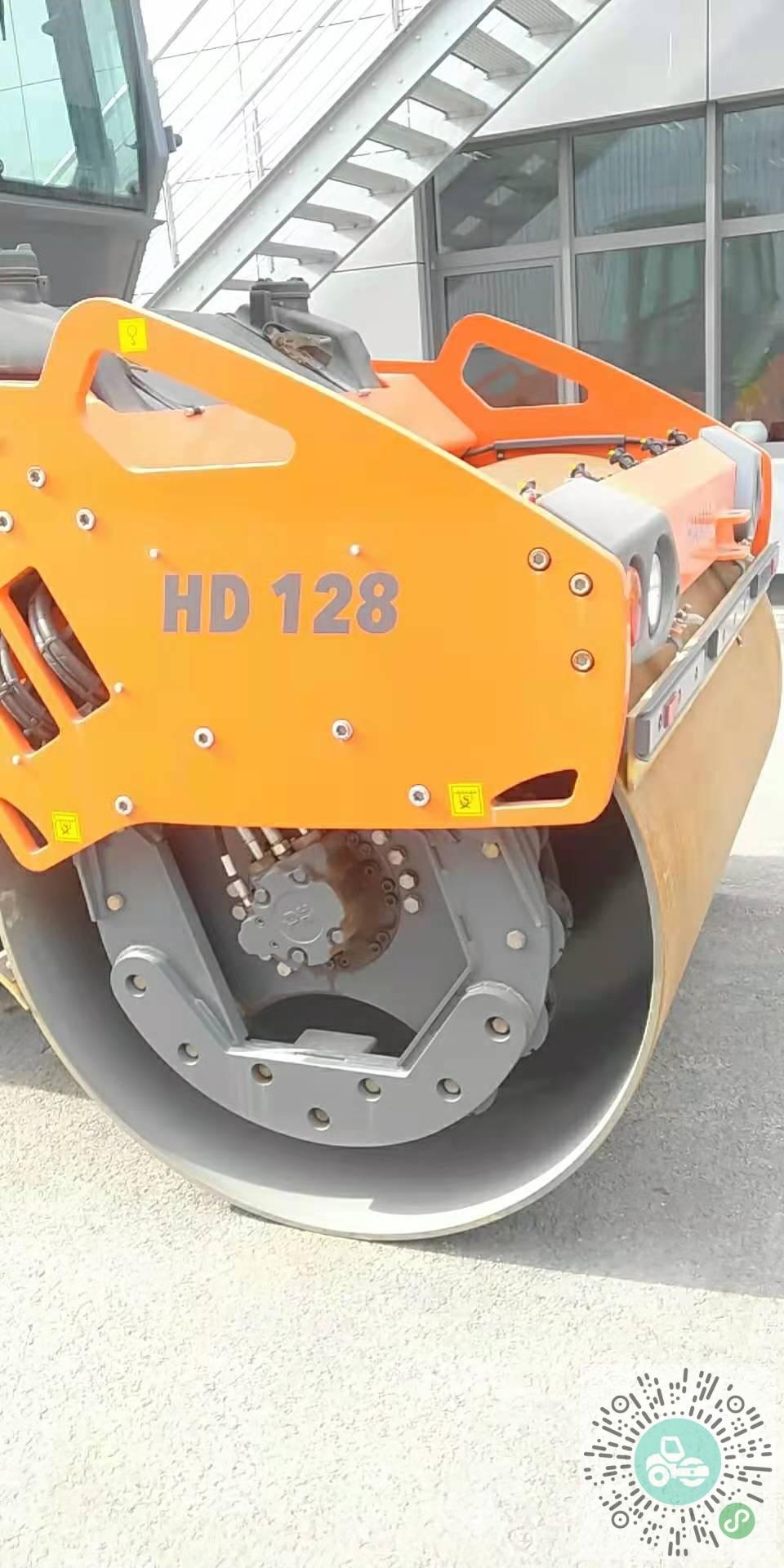 转让悍马2014年HD128压路机