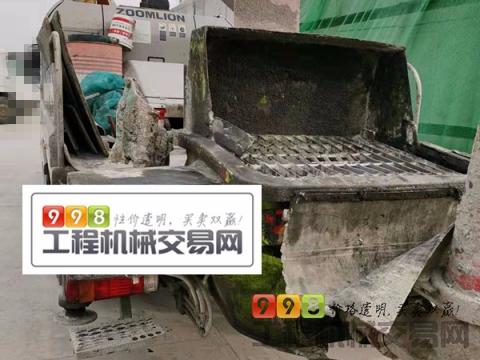 精品出售18年中联解放10022车载泵(2万方)