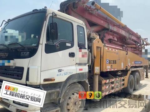 精品出售14年徐工五十铃46米泵车(三桥叉腿 )