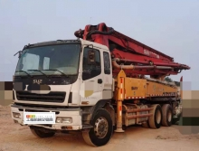 出售09年出厂三一五十铃37米泵车(3桥叉腿大排量)