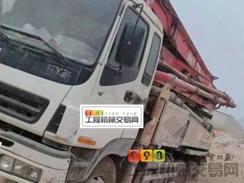 终端精品出售10年三一五十铃37米泵车