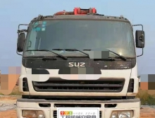 车主精品出售09年出厂三一五十铃46米泵车(3桥叉腿)