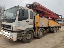 精品出售09年三一五十铃48米泵车(车况包相中)