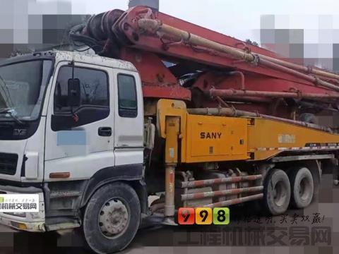 终端干活直转11年出厂三一五十铃46米泵车(北方一手车,整车干爽无漏油)