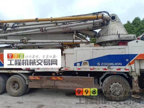 终端精品2013年出厂中联五十铃叉腿52米(6节大排量.满管出料)