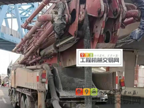 出售12年出厂三一五十铃52米泵车