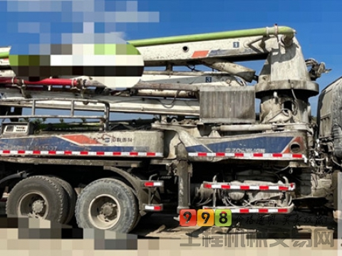 转让10年出厂中联五十铃37米泵车