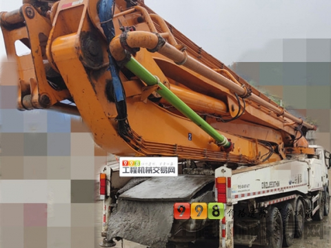 精品转让14年出厂中联斯堪尼亚63米泵车(满管不挑料 从不堵管)