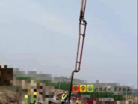 出售2012年三一奔驰52米泵车