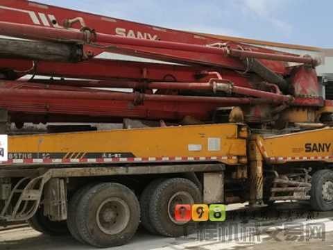 出售08年三一五十铃48米泵车