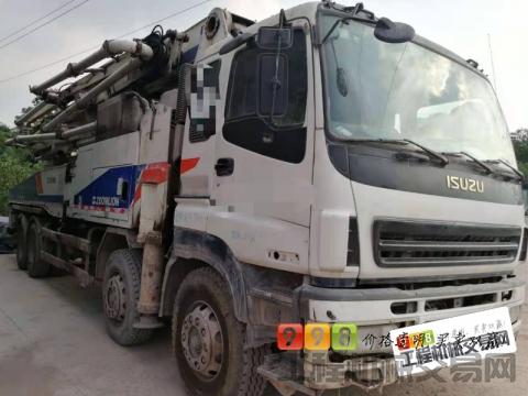 转让2012年中联五十铃49米泵车(6臂大排量)
