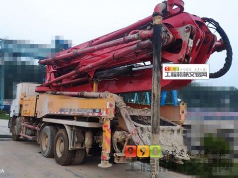 原法务车精品出售11年5月出厂三一奔驰40米泵车(干活少 方量少)