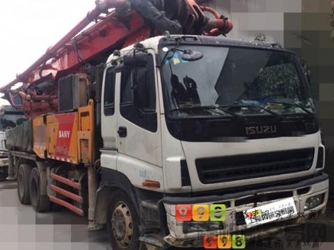 极品出售13年差4天三一五十铃46米泵车(一手车)